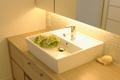 収納力と機能性を兼ね備えた洗面室