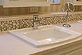 フレンチスタイルの洗面スペース