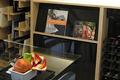 デザイン性が高い本棚