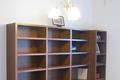 本棚と収納を兼ね備えたオーダー本棚