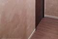 玄関とリビングを繋ぐ壁面ペイント