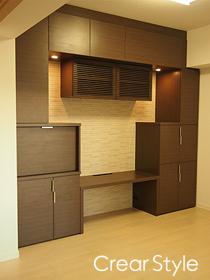 新築マンション・TVボード(西区)